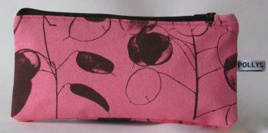 Honesty design in brown on pink