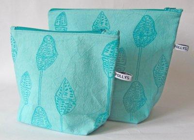 turq handmade was-bag