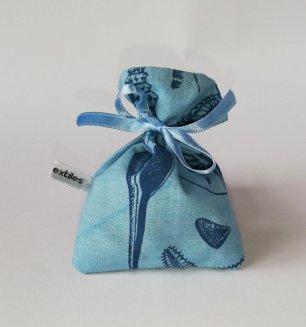 blue handmade lavender bags