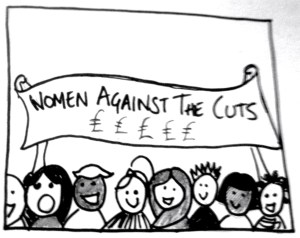 women against the cuts