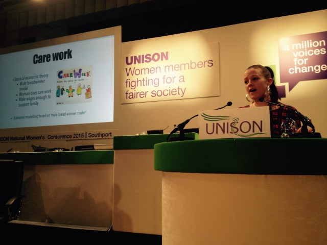 Adventures at Unison Women's Conference
