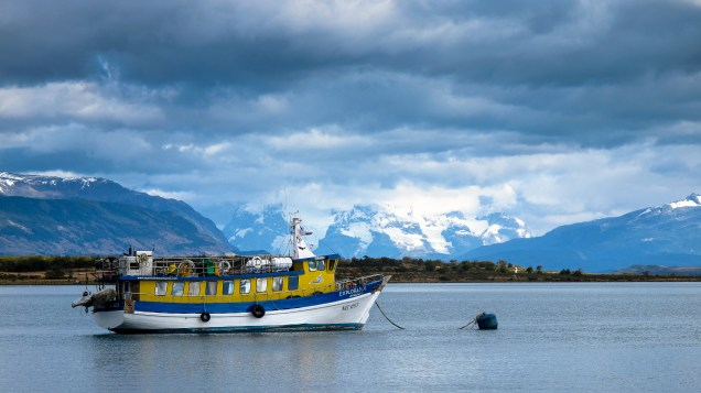 Patagon Storm. Puerto Natales, Chile.