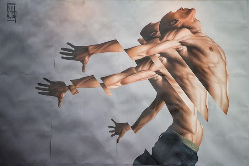 James Bullough street art mural arte urbano4