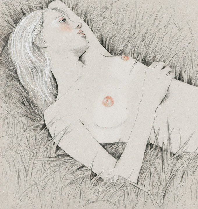 Kelly Thompson sensual illustration Cultura Inquieta 11
