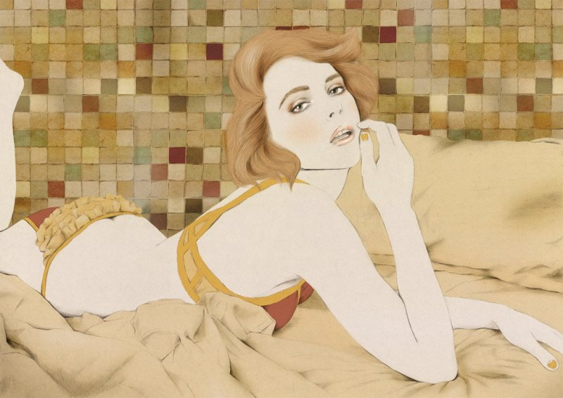 Kelly Thompson sensual illustration Cultura Inquieta 23