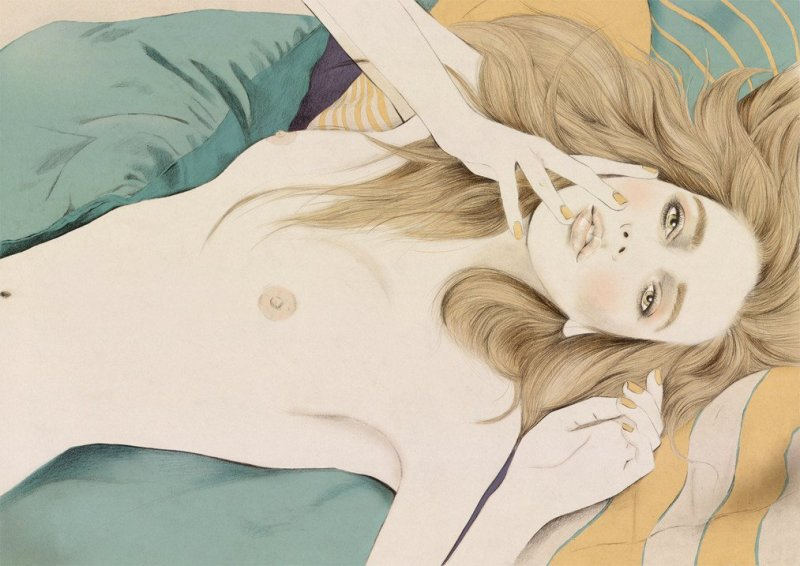 Kelly Thompson sensual illustration Cultura Inquieta 25