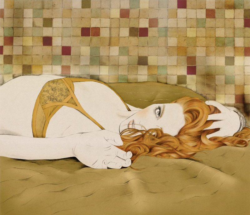 Kelly Thompson sensual illustration Cultura Inquieta 24