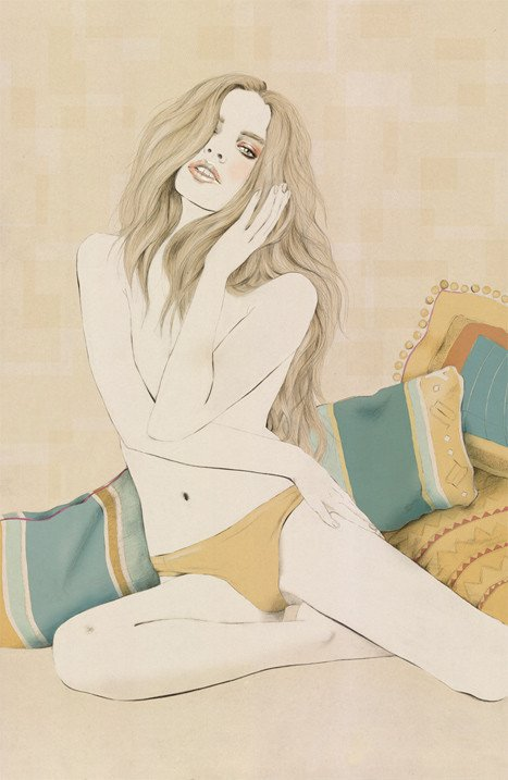 Kelly Thompson sensual illustration Cultura Inquieta 22