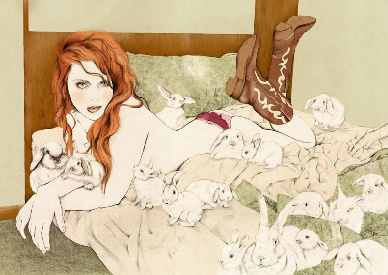 Kelly Thompson sensual illustration Cultura Inquieta 19