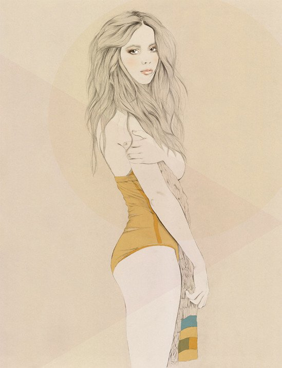 Kelly Thompson sensual illustration Cultura Inquieta 31