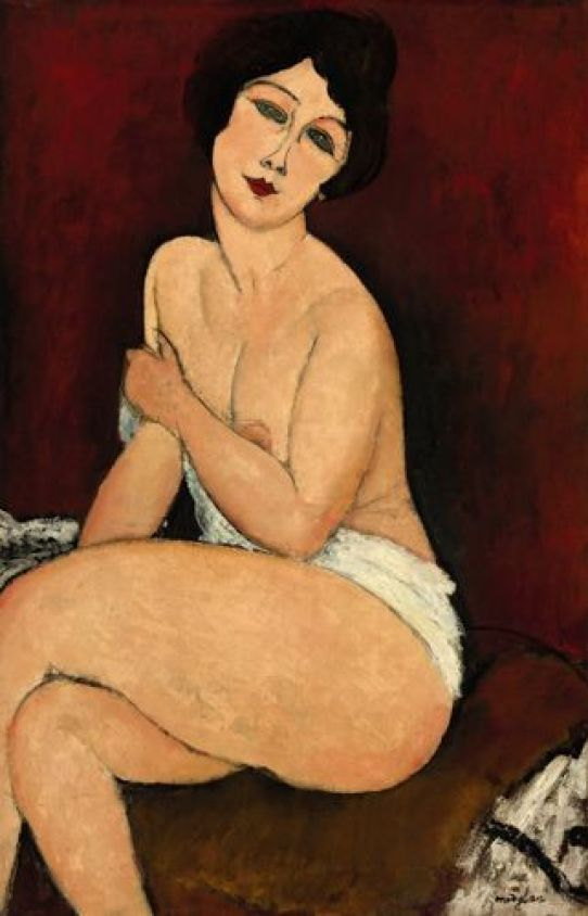 amedeo modigliani pintura
