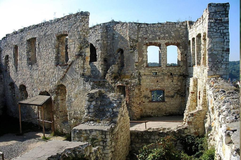 Kazimierz Dolny - ruines du château