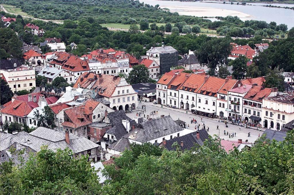 Kazimierz Dolny - place du marché