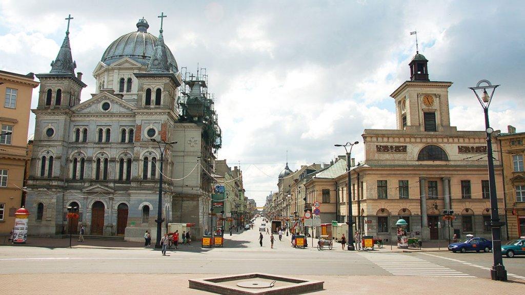 Łódź - église du Saint-Esprit