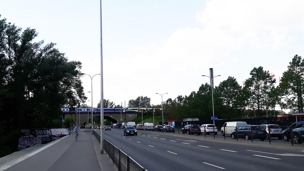 Varsovie - pistes cyclables