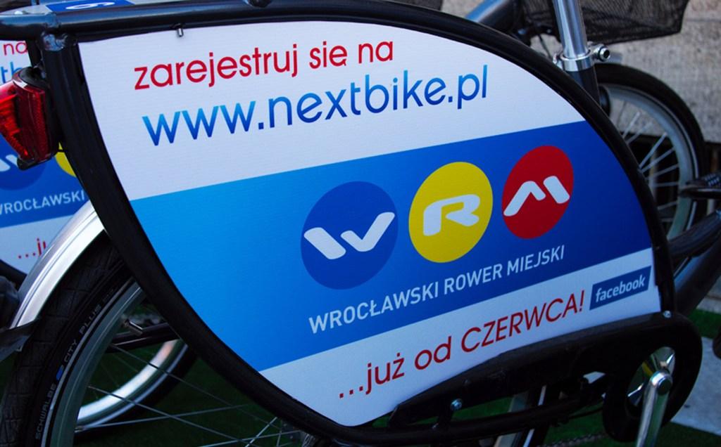 Wrocław - vélos en libre-service