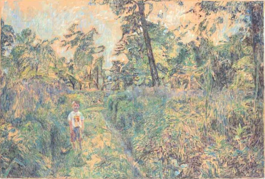 Žan v gozdu