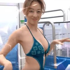 【綜藝新時代】夏語心泳裝