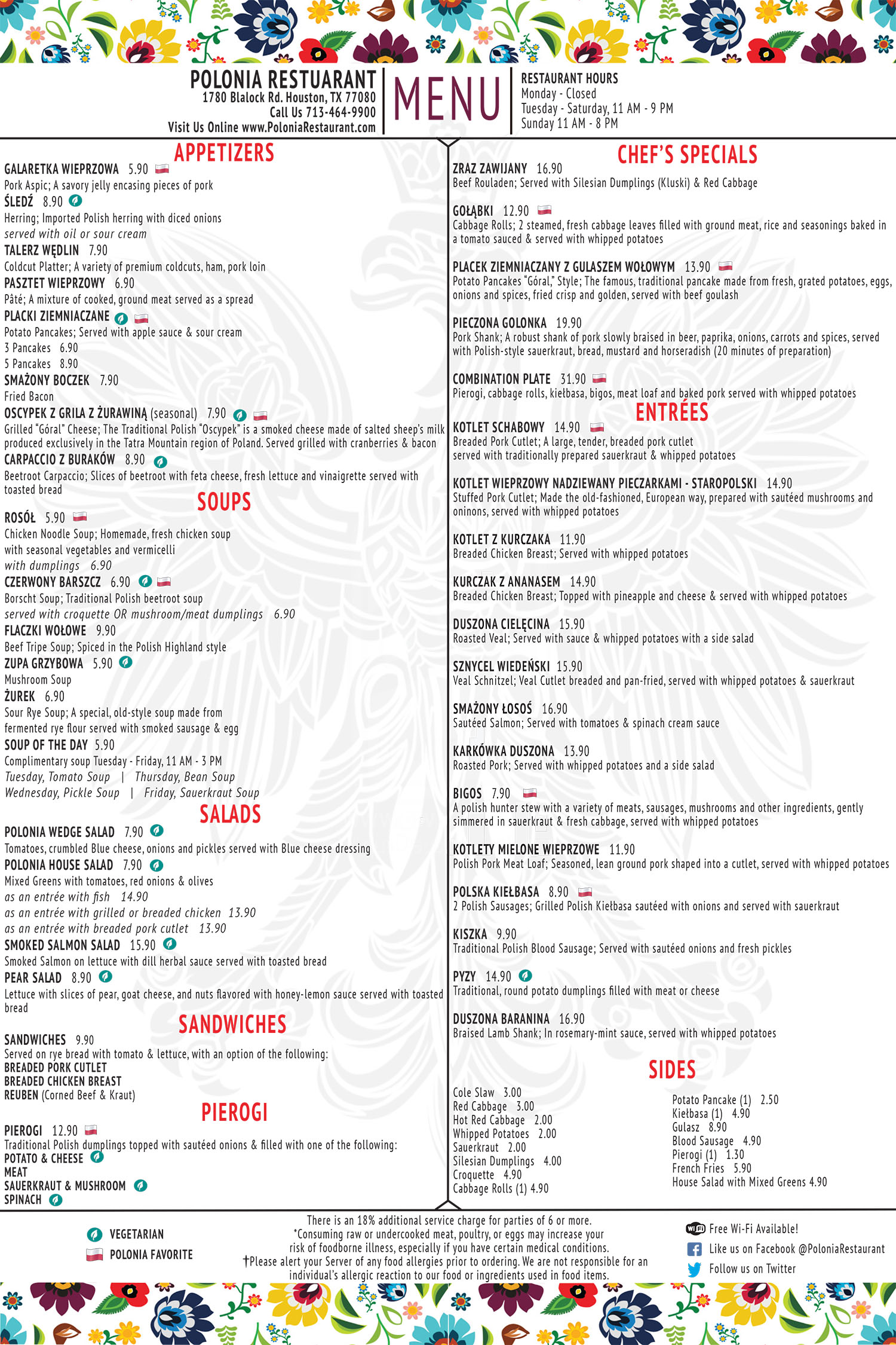 Polonia Restaurant is Houston's only restaurant that serves ...