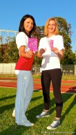 Różowa kartka dla raka piersi !