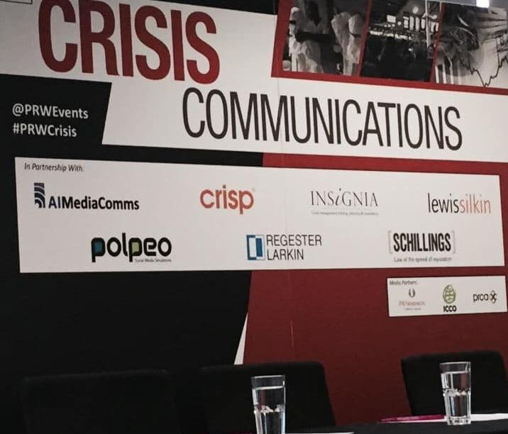 Lessons in crisis management, from #prwcrisis 2015