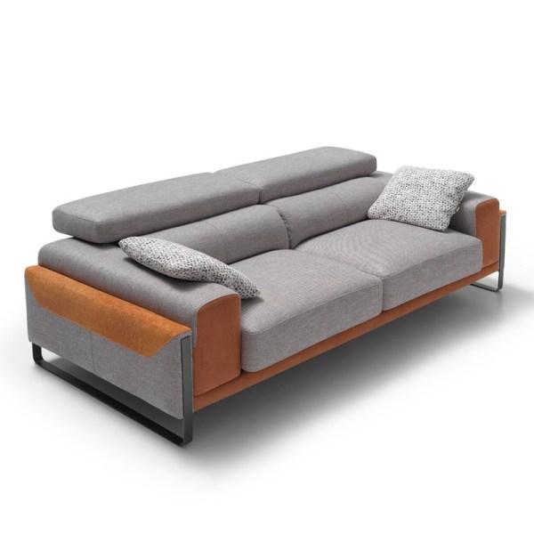 sofa tres plazas bunb muebles polque