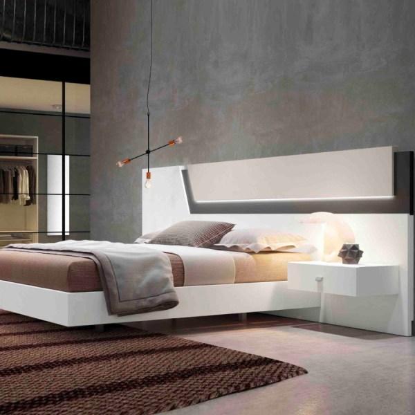 dormitorio moderno frida blanco