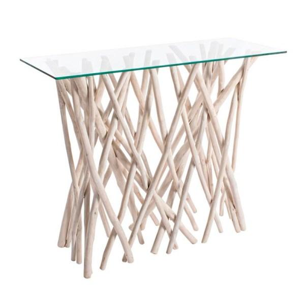 mesa consola lisa muebles polque
