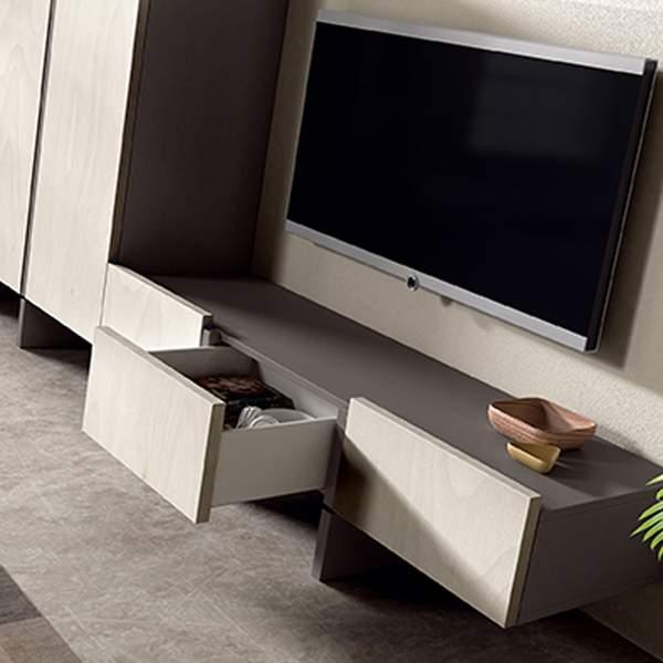 Detalle cajones ,ueble de Tv Lyon de Muebles Polque