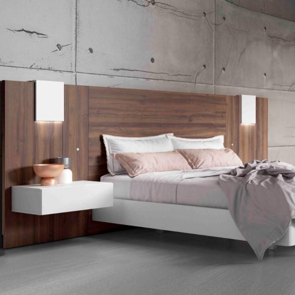 dormitorios modernos Dan Nogal