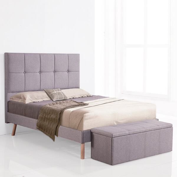 Aro de cama 100 Nor gris