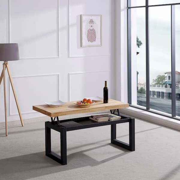mesa de centro elevable muebles polque