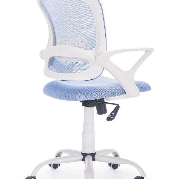 Silla escritorio Siba azul-blanco