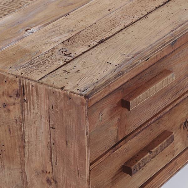 mueble tv madera reciclada muebles polque