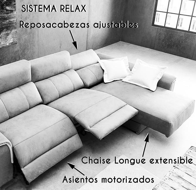 sistema relax sofá muebles polque