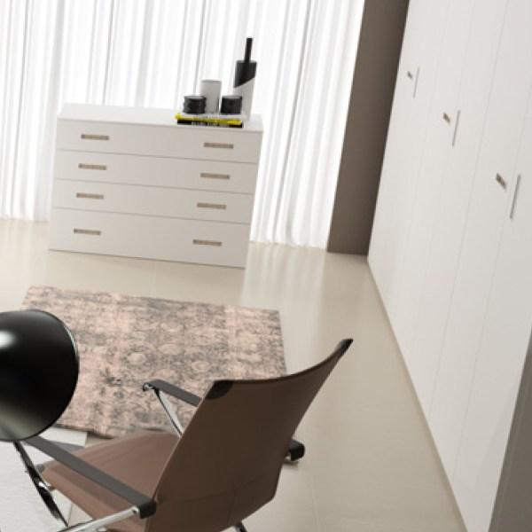 armario puertas lisas muebles polque