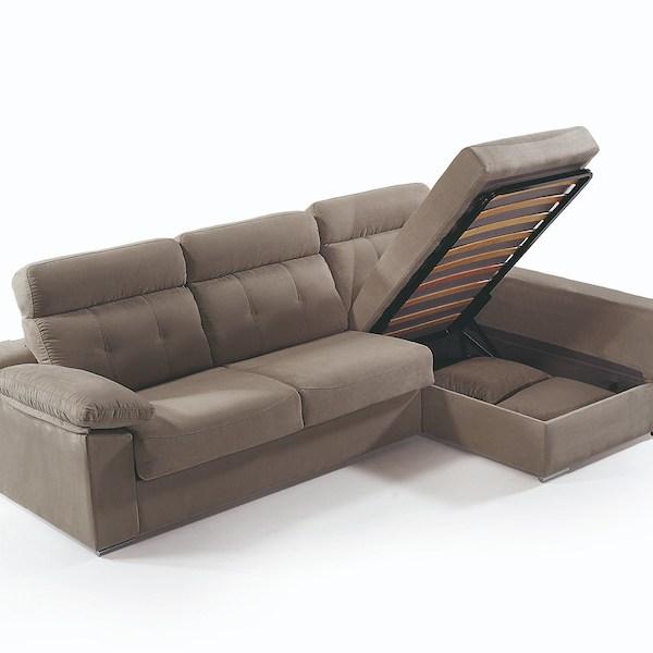 sofá cama cheslong arcón