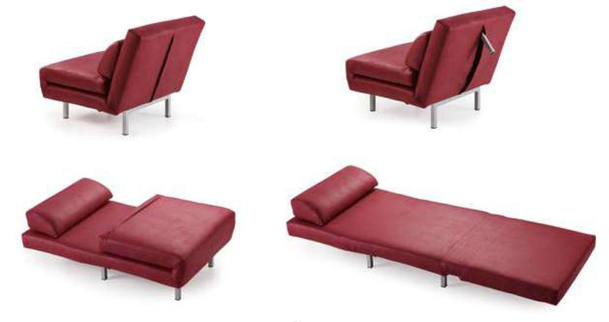 sofá cama fácil muebles polque