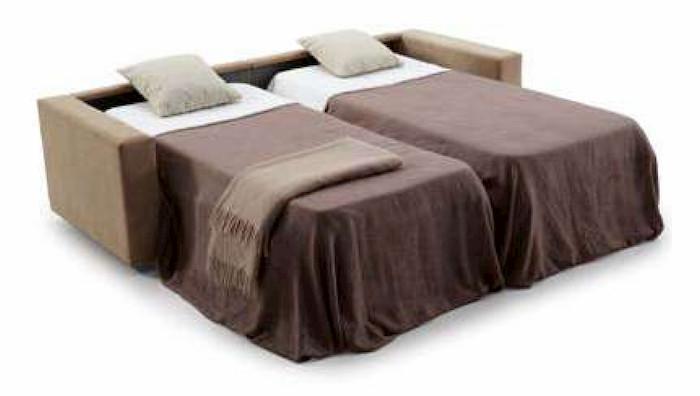 sofá 2 camas dobles
