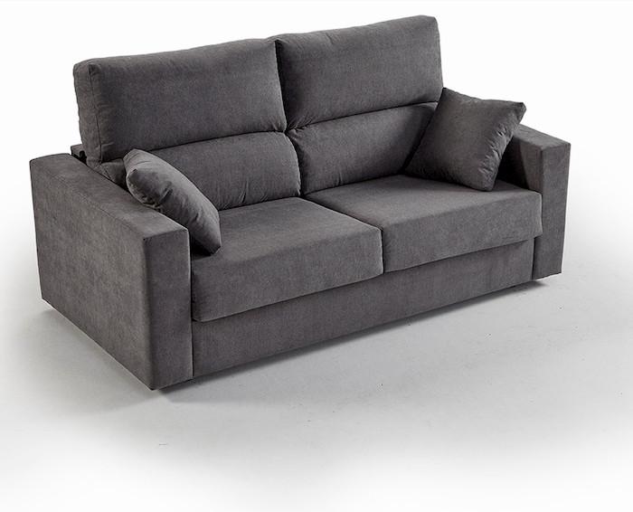 sofá 2 camas dobles muebles polque
