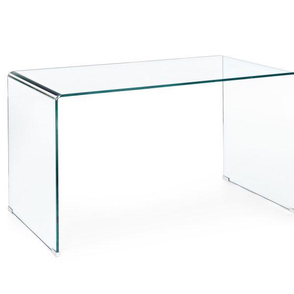 escritorio cristal