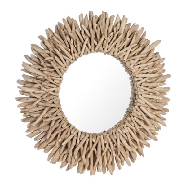 Espejo decorativo teca