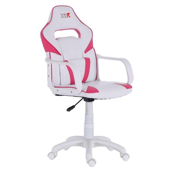 Silla gamer t-rex rosa