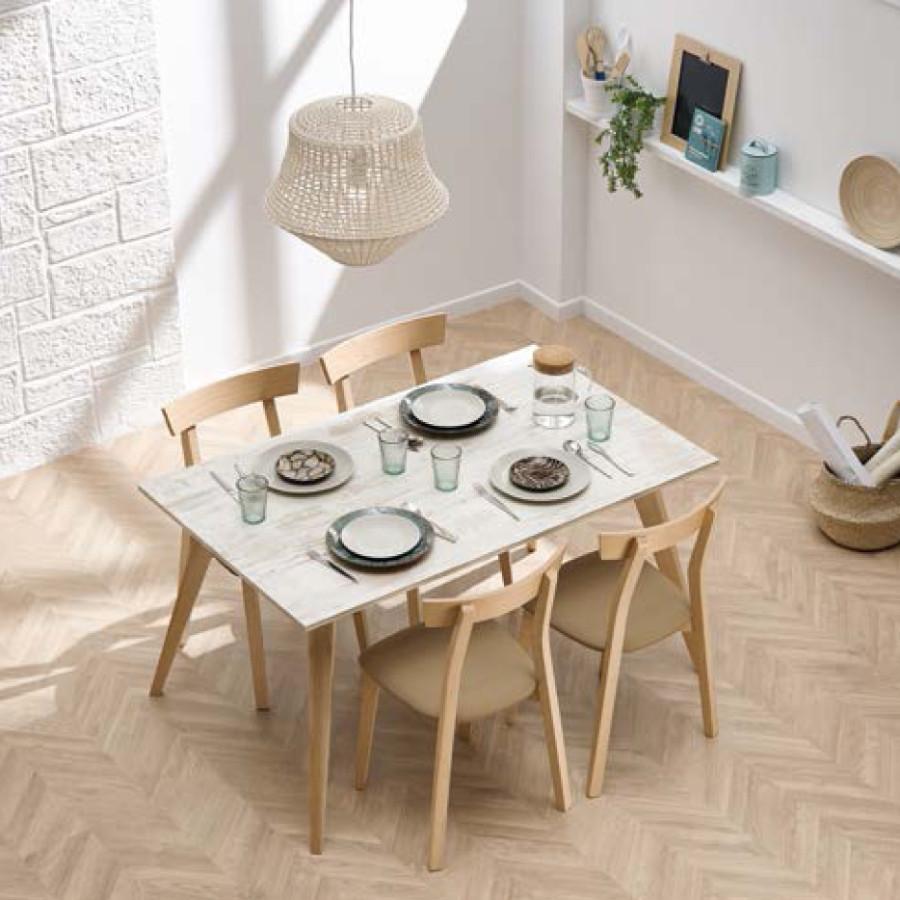 Mesa cocina extensible Dijon