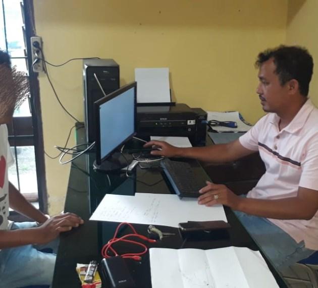 Polsek Panei Tongah Ringkus Karyawan PT. STTC, Penyalahguna Narkotika