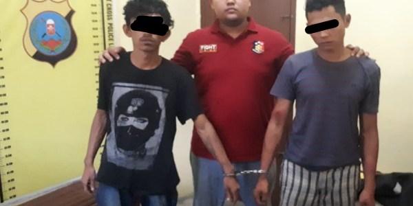 Aksi Heroik Personil Reskrim Polres Simalungun Amankan Pelaku DPO Begal