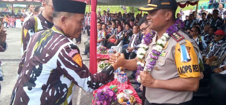 Ajakan Kapolres Simalungun kepada pengurus DPD IPK Kab. Simalungun yang baru