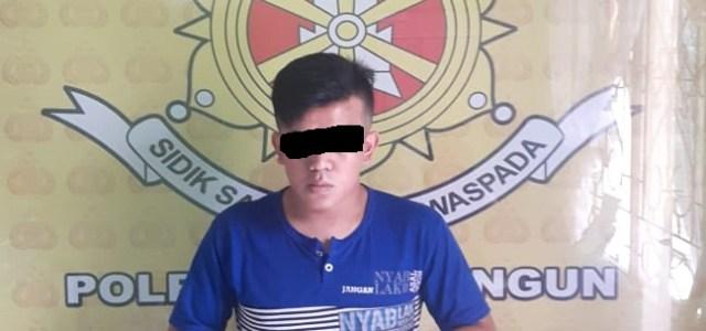 Unit Jatanras Satuan Reskrim Polres Simalungun Ringkus SS Pelaku Judi Jenis Togel.