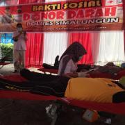 Polres Simalungun Gelar Donor Darah untuk Bantu Pasien Covid-19