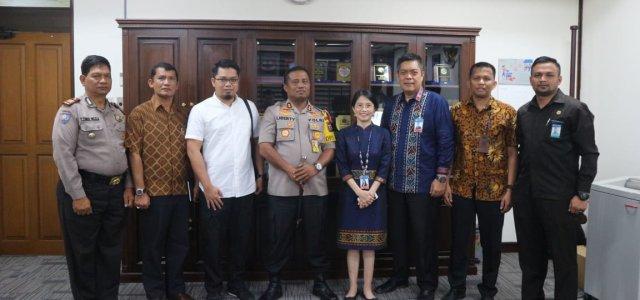 MENGHINDARI MONEY POLITIK JELANG PEMILU 2019 POLRES SIMALUNGUN BEKERJASAMA DENGAN BANK INDONESIA